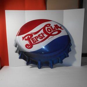 Pepsi-Cola Die Cut Embossed Bottlecap Ande Rooney